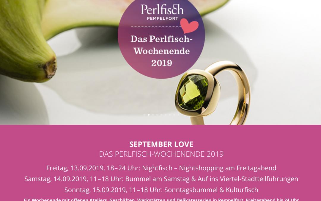 Perlfisch-Wochenende 2019: Das Viertel genießen